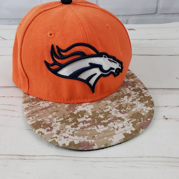 factory price half off classic styles 9fifty Accessories | Denver Broncos Nfl New Era Camo Baseball ...